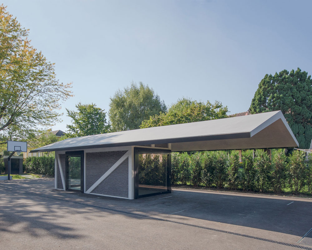 Subterranean Garage In Tannay Switzerland Snupdesign