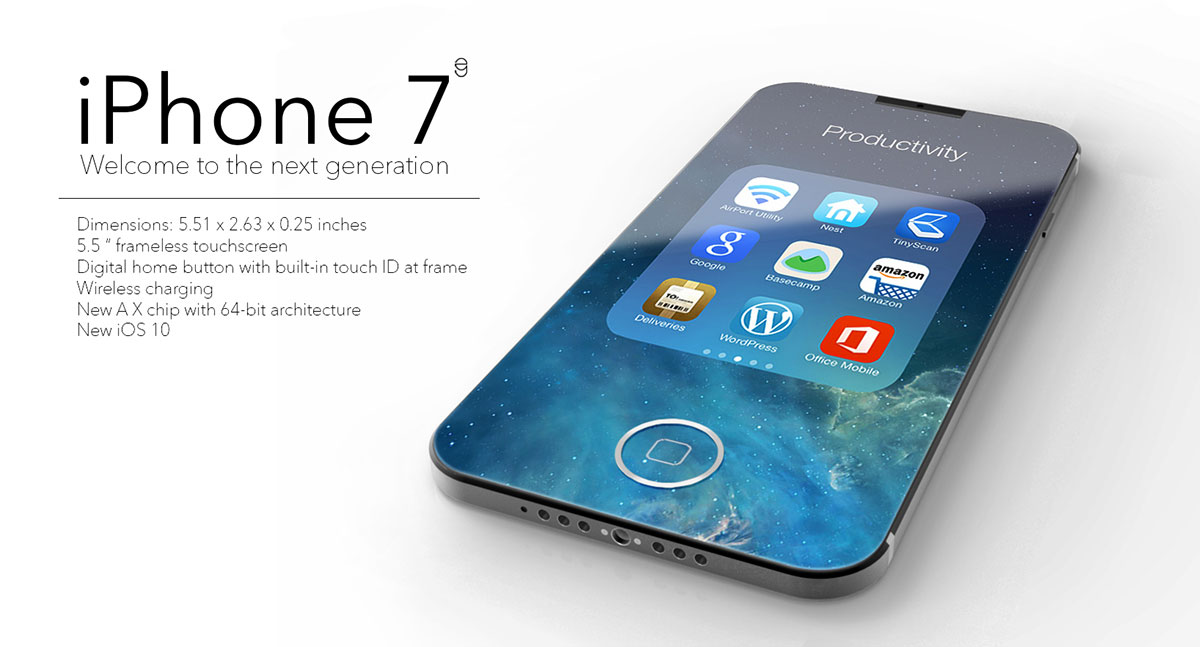 Iphone 7 concept by eduardo guerrero snupdesign for Iphone 7 architecture
