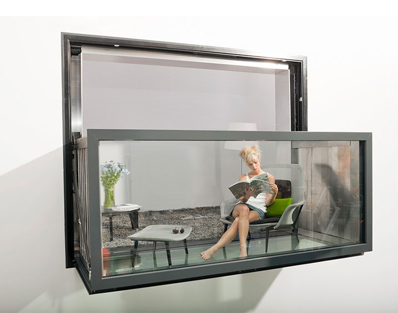 Bloomframe window snupdesign for Velux finestre balcone