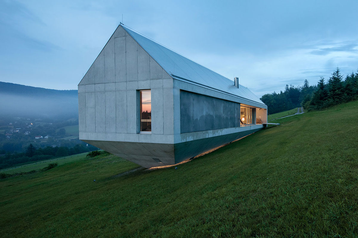 Concrete Ark House Snupdesign