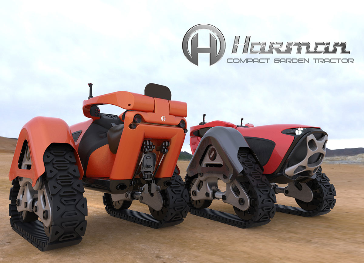 Tractor Track System : Harman compact garden tractor project snupdesign