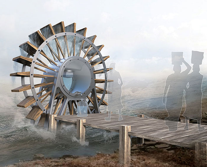 Waterwheel Filter Snupdesign