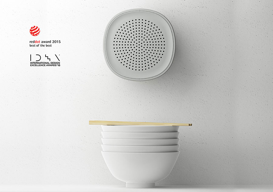 Natural Dehumidifier / Water Bowl By 250 Design