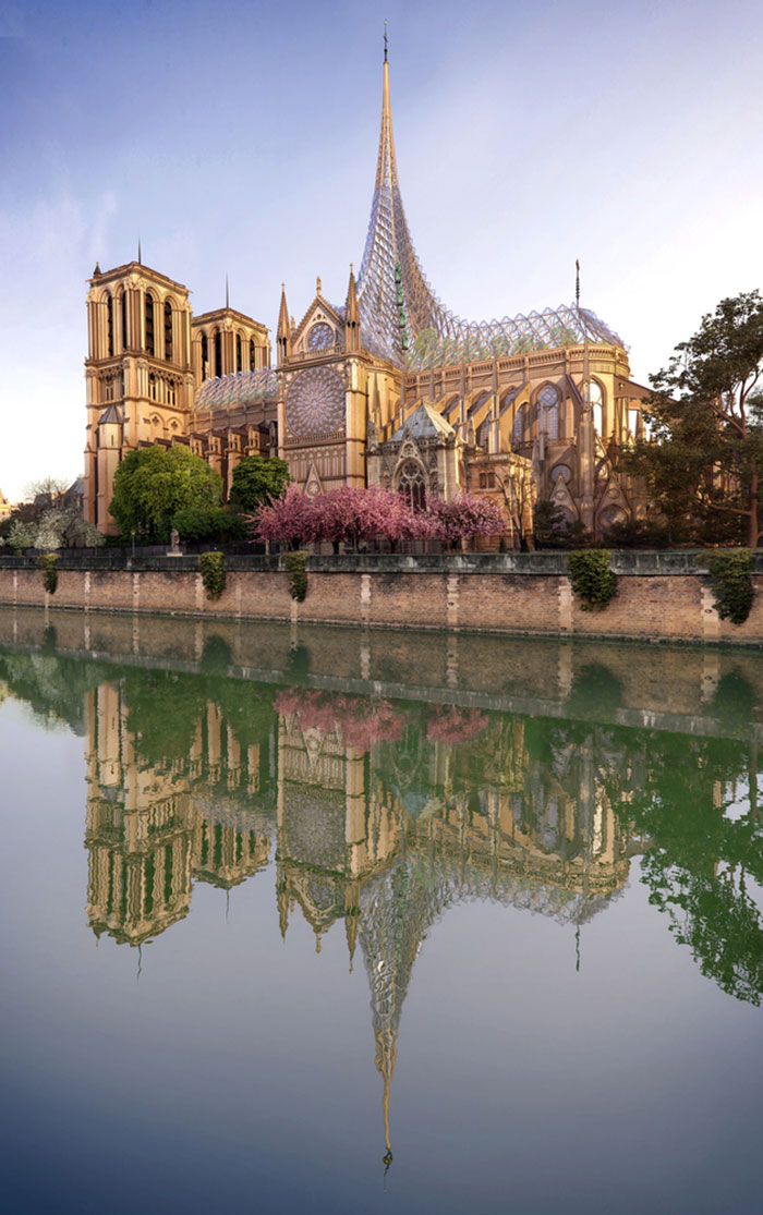 Palingenesis Project to Notre-Dame cathedral VCA