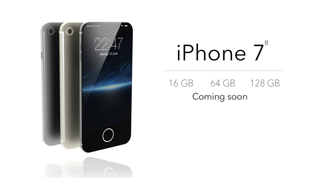 Iphone 7 Concept by Eduardo Guerrero