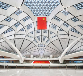 Initially serving 45 million passengers per year, Beijing Daxing will accommodate 72 million travellers by 2025 and is planned for further expansion to serve up to 100 million passengers and 4 million tonnes of cargo annually.