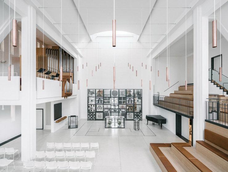 Enghave Kirke by Frank Maali & Gemma Lalanda Architects