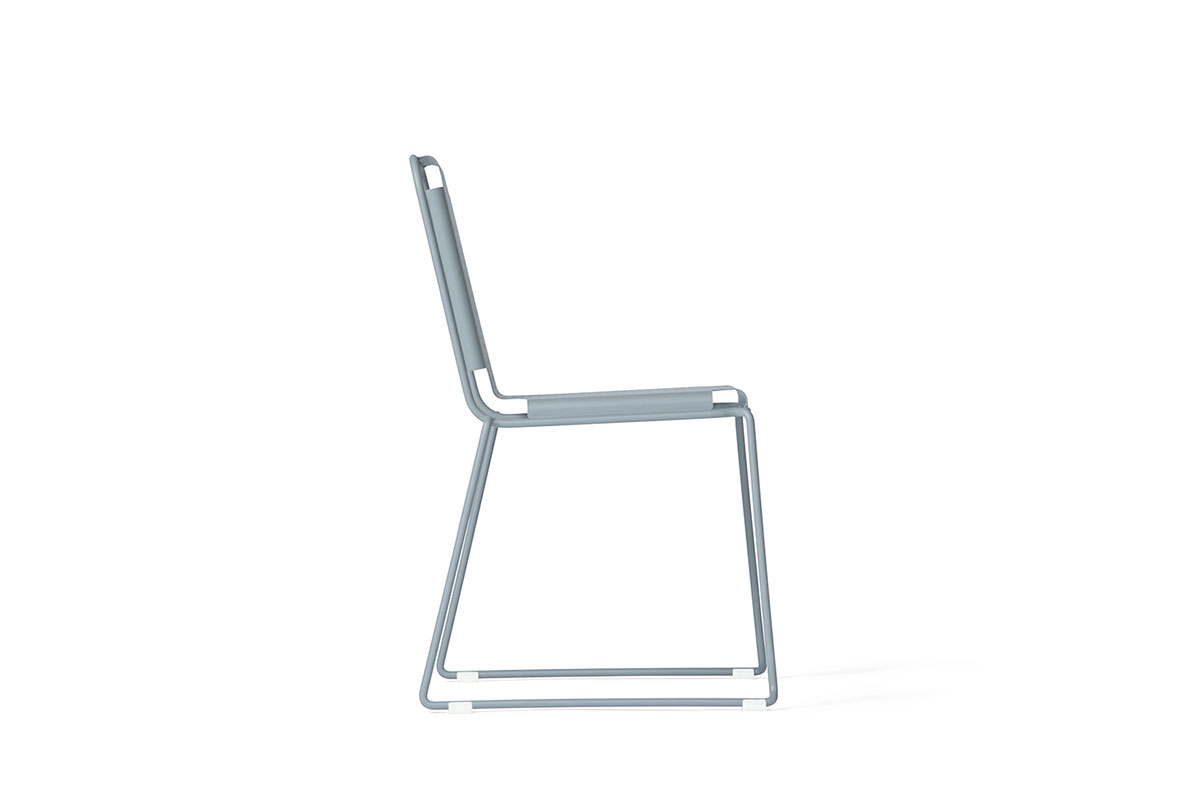 steelo chair mario alessiani