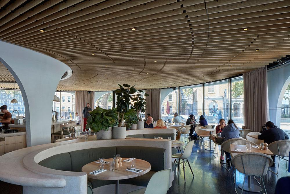 Duke of York Restaurant in London / Nex—