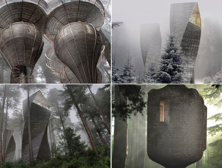 Antony Gibbon's Tree Houses