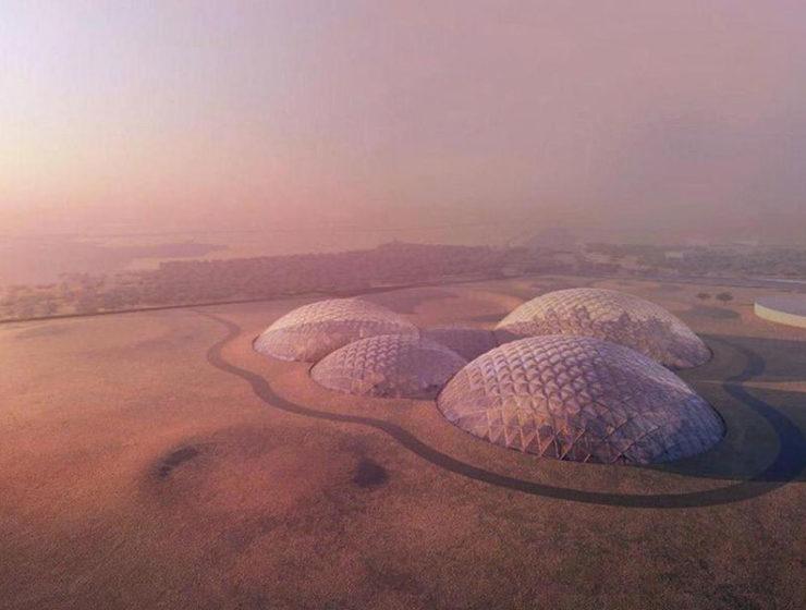 Mars Science City Bjarke Ingels Group