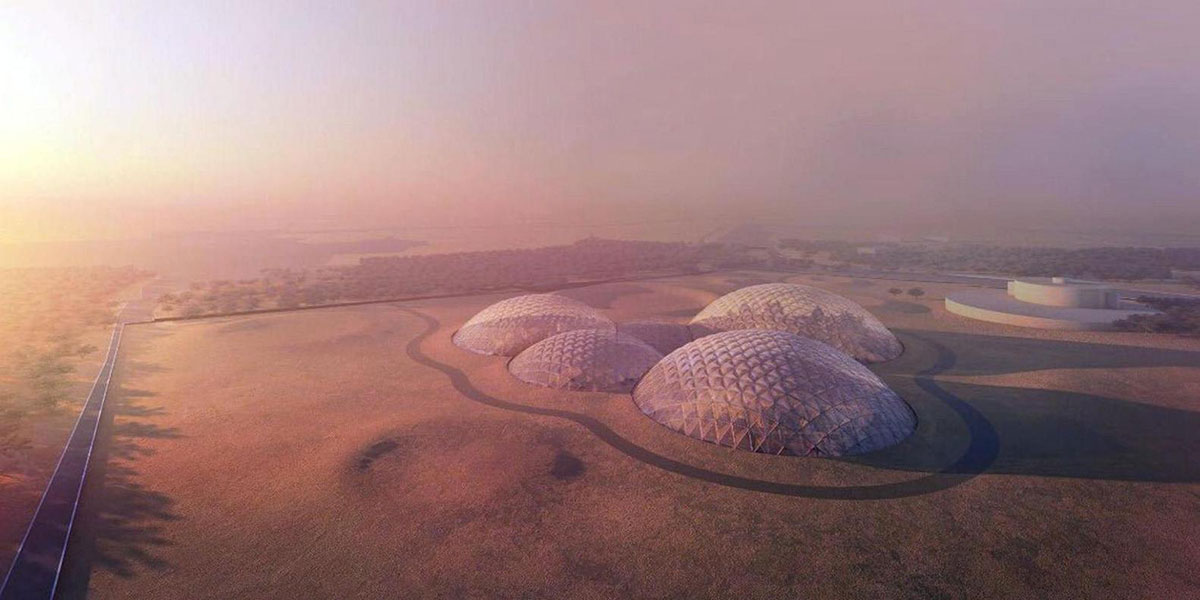 Mars Science City Bjarke Ingels Group
