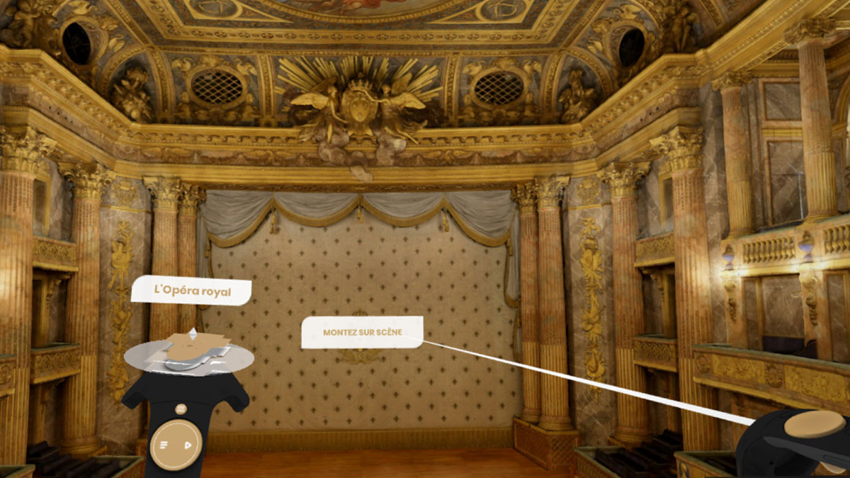 Palace of Versailles VR