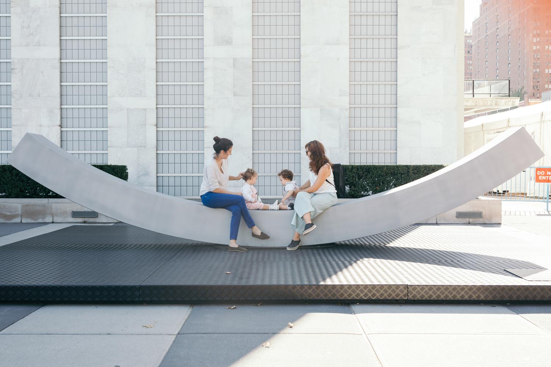 Peace Bench Sculpture for the UN Headquarters / Snøhetta